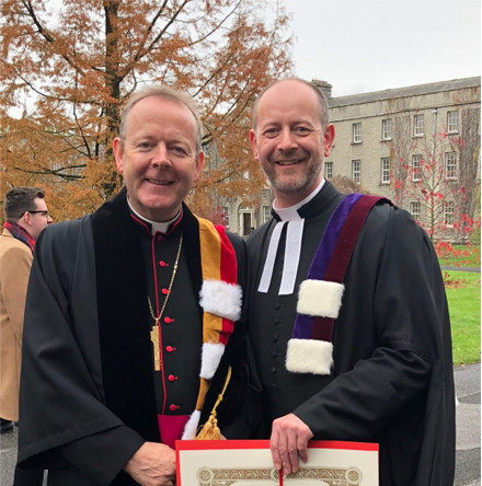 Cork healthcare chaplain conferred with a Masters Degree in Theology