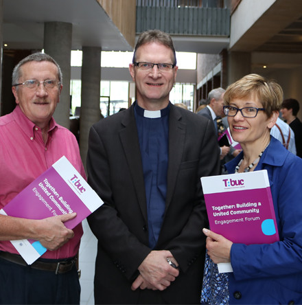 Church of Ireland representatives participate in community relations conference