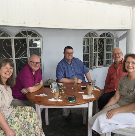 Archbishop Clarke arrives in Zambia on CMS Ireland visit