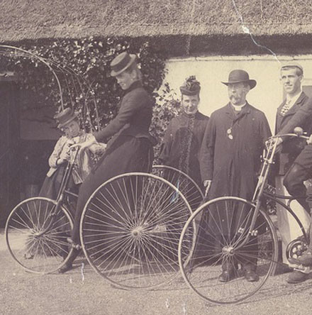 Bicycles, long coats and shooting jackets - Further 'News Behind the News' From the pages of the Gazette