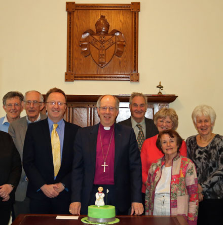Board of Education (NI) wishes Bishop Good a happy retirement