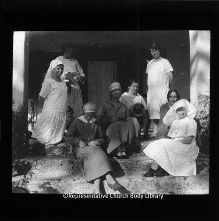 RCB Library lantern slides: missionary work in North India