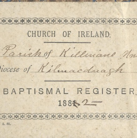 Tracking Parochial Families in Killinane and Kilconickny, County Galway: Local History Using Parish Registers & Gravestone Inscriptions - Archive of the Month – June 2016