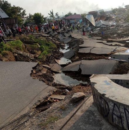 Response to tsunami in Indonesia