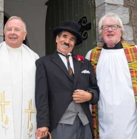Ecumenical Service at Charlie Chaplin Film Festival, Waterville