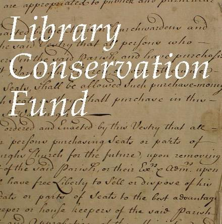 RCB Library Conservation Fund