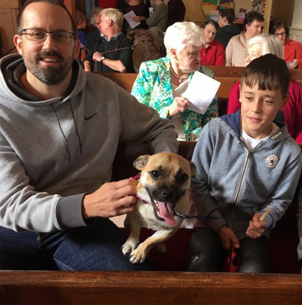 Service of Blessing of Animals in St Mary's Church, Carrigaline