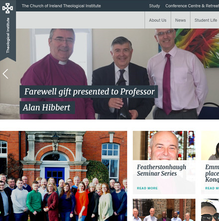New website for Church of Ireland Theological Institute