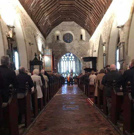 Hundreds fill St Mary's Church, Youghal, for dedication of new war memorial