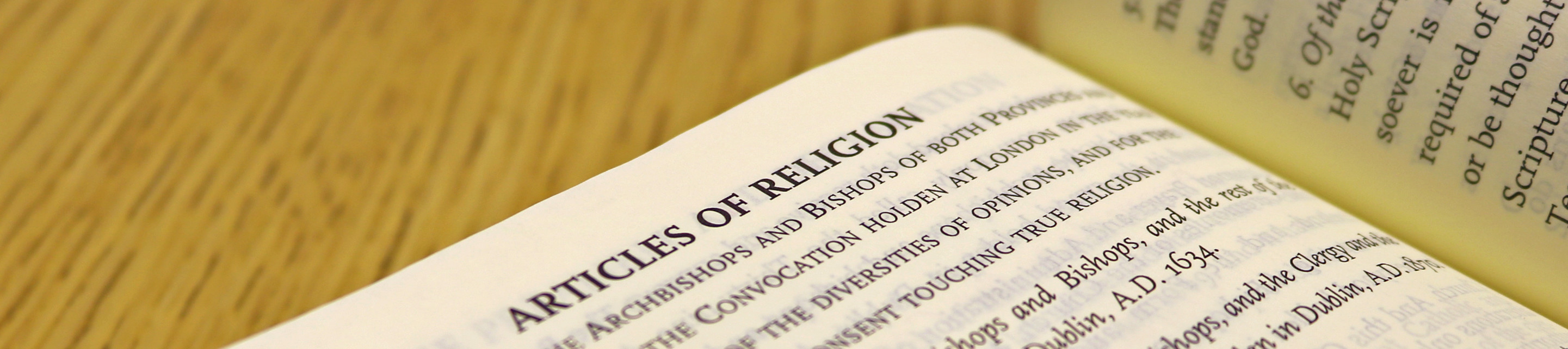 39 Articles of Religion