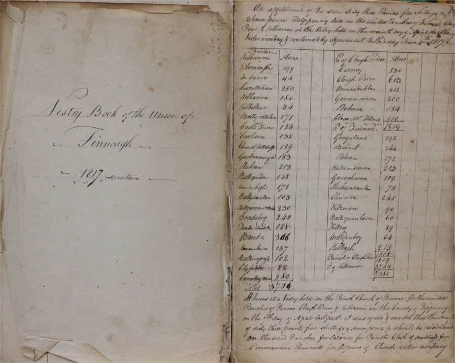 Parish Record Accessions to the Library During 2018 & the