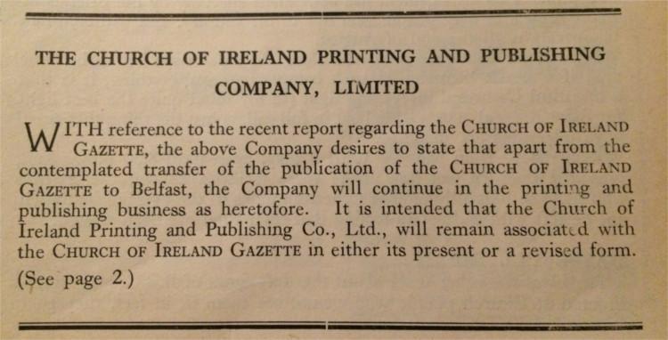 Gazette 18 October 1963