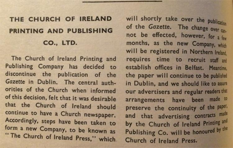 Gazette 18 October 1963