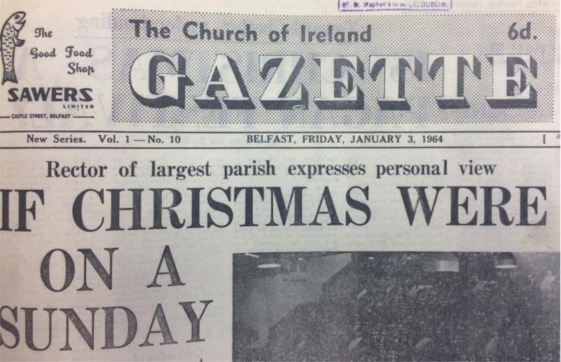 Gazette 3 January 1964