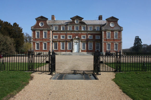 Raynham Hall, seat of the Townshend family in Norfolk