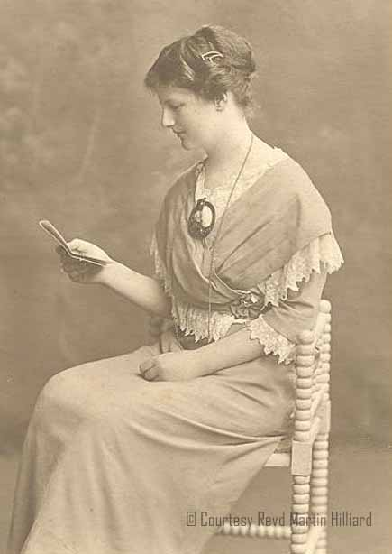 Miss Beatrice (Eitne) Culverwell, ©Courtesy Revd Martin Hilliard