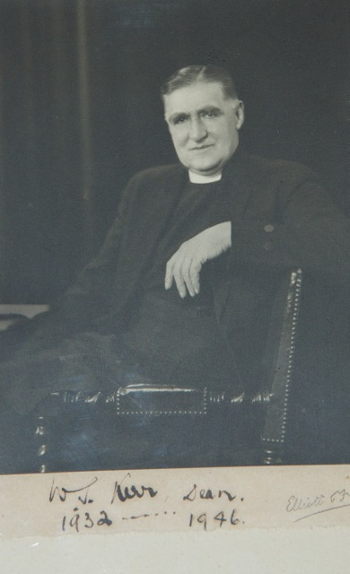 WS Kerr, as Dean of Belfast