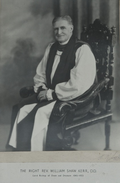 WS Kerr as Bishop Down and Dromore