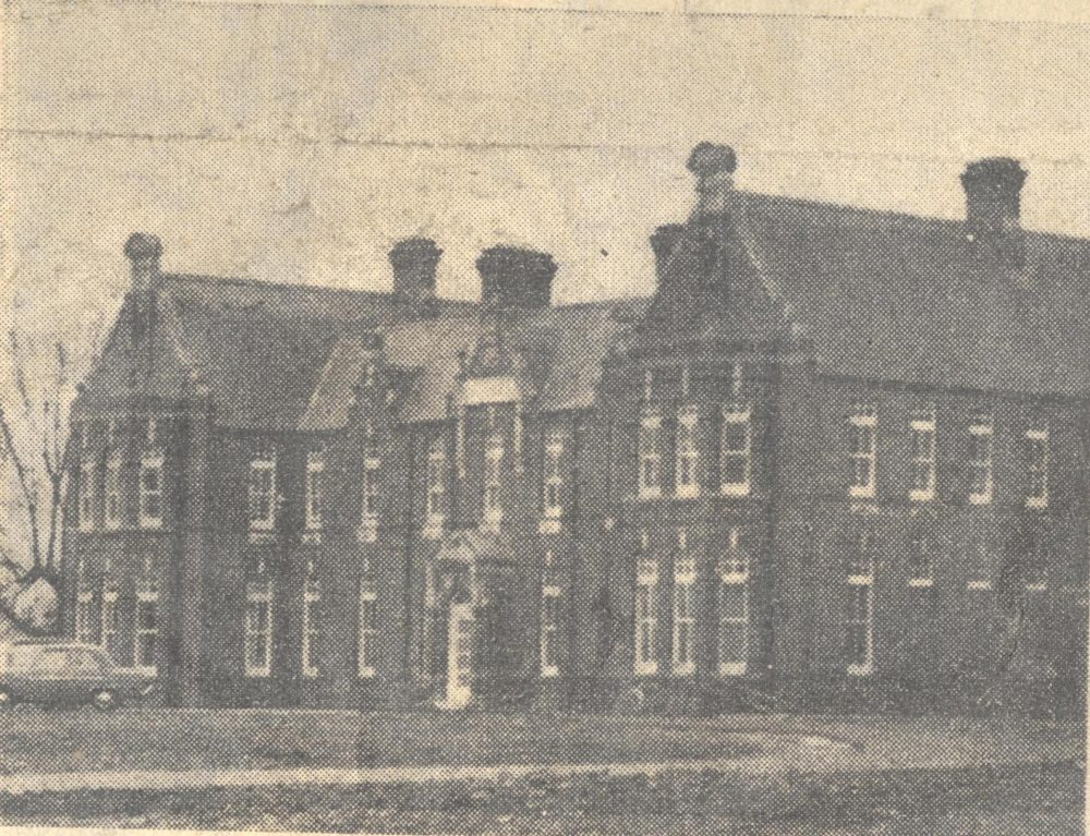 The former Fetherstonhaugh Hall building, Church of Ireland Gazette, 21 February 1964