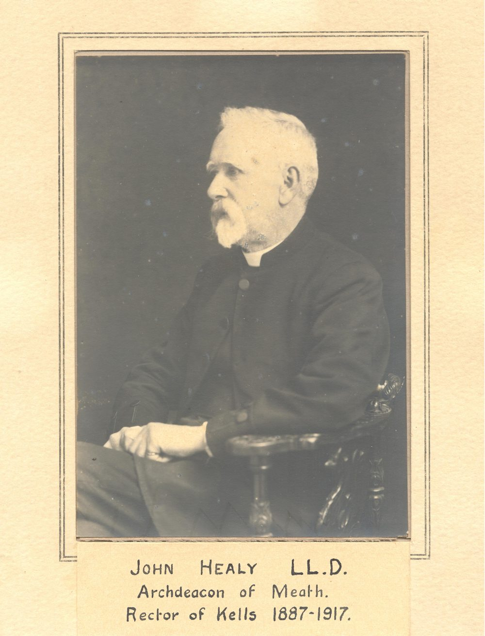 Venerable John Healy, RCB Library clergy photographic collection