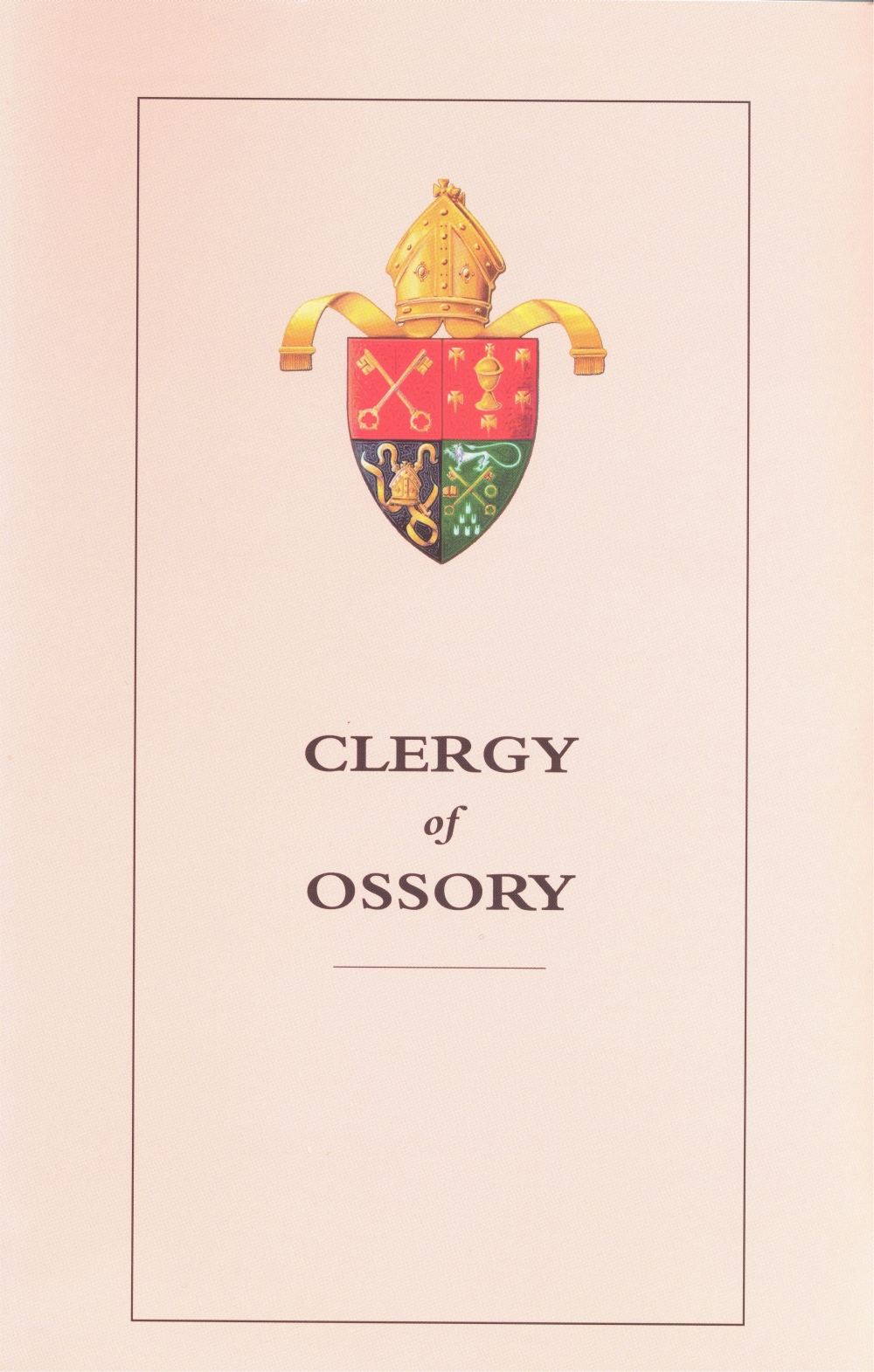 Titles from the published clerical succession lists edited by Canon David Crooks