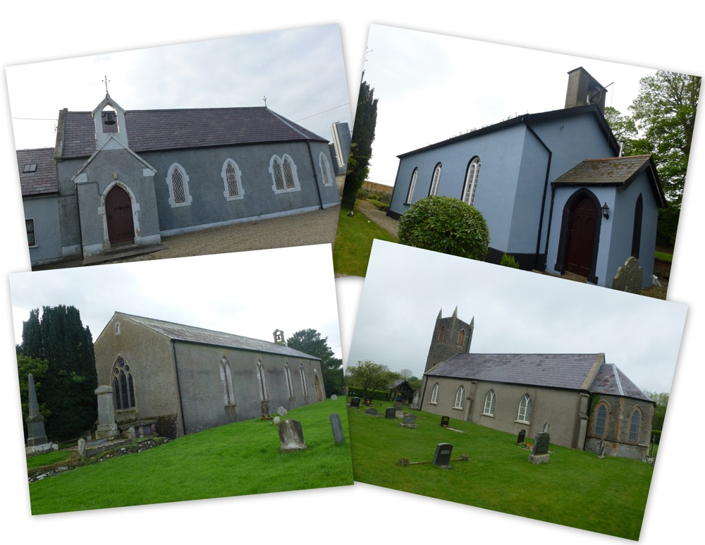The churches of Taughboyne group, diocese of Raphoe