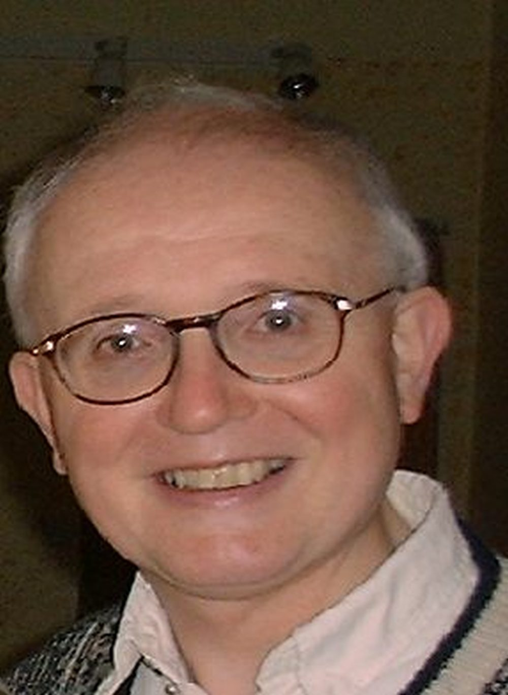 The late Revd Mervyn Kingston, who compiled the database