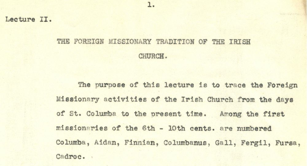 Extract from Lecture 2, p. 1