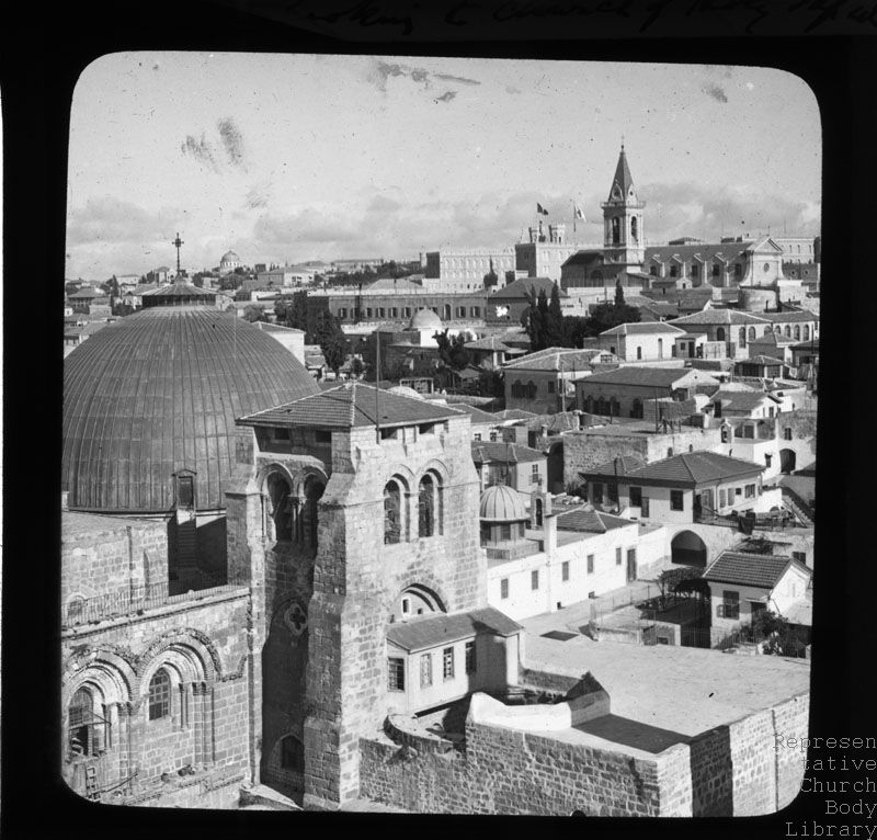 'View to Church of Holy Sepulchre'