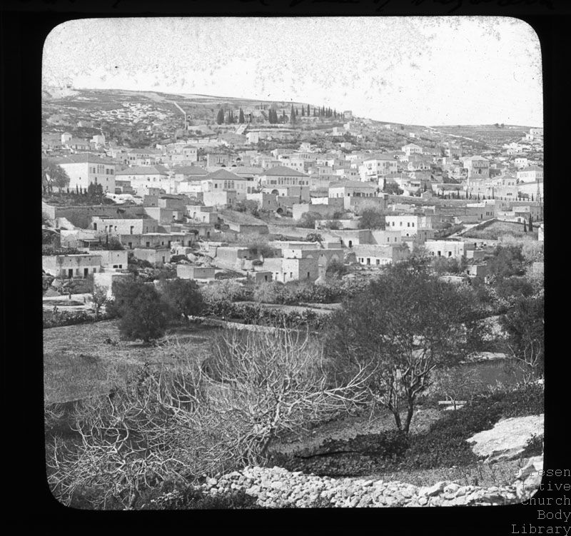 'General view of Nazareth'