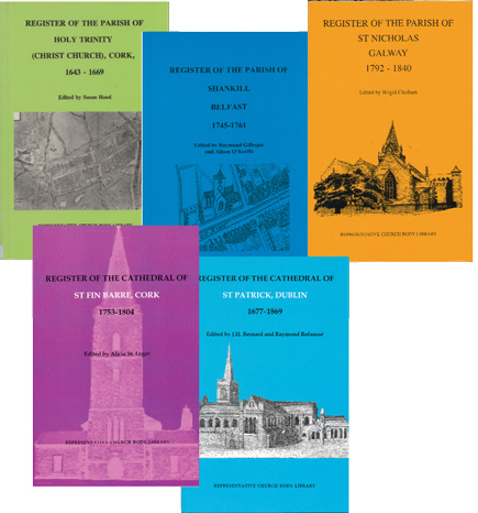 Parish Register Publications