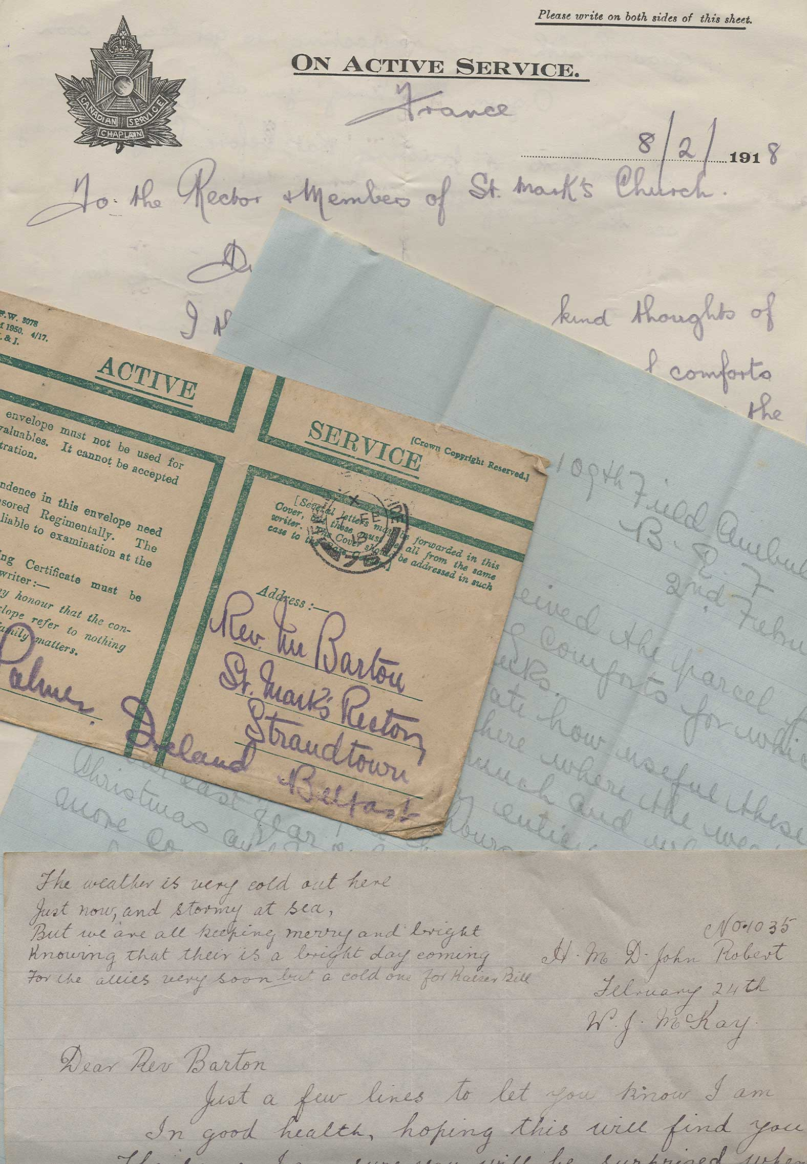 Letters from the Western Front