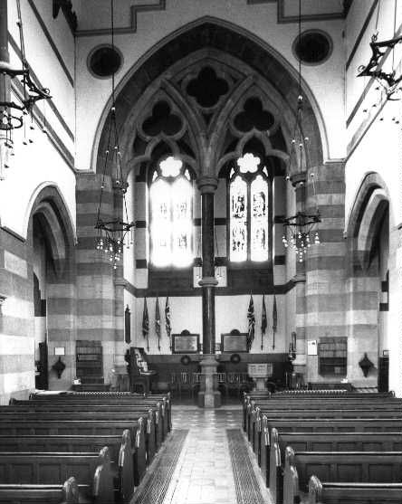 Interior of St Mark's, Dundela