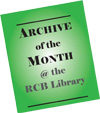 Archive of the Month