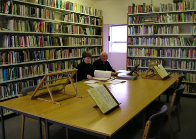 Reading Room in the RCB Library