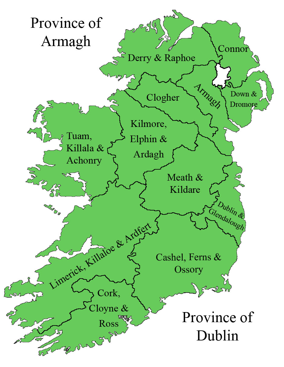 Diocesan Map