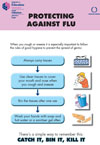 Protecting against flu