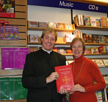 Peter Thompson and Alison Cadden launch Singing Psalms Vol.3