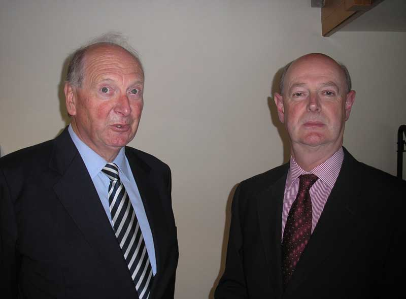 Mr Michael Webb and Dr Raymond Refausse