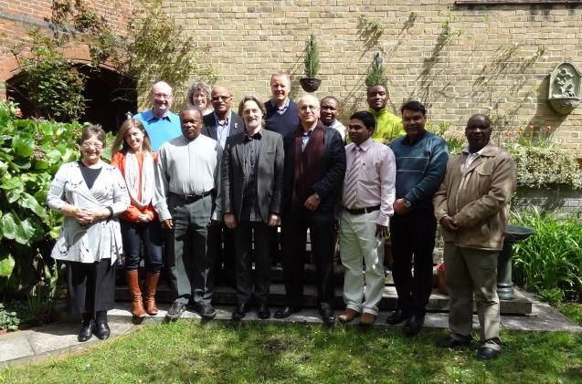 AHN provincial representatives and Anglican Health Fellows at the Anglican Communion Office, Saturday 27 April 2013