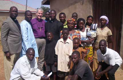 Bishop Jackson in Diocese of Kaduna, Nigeria