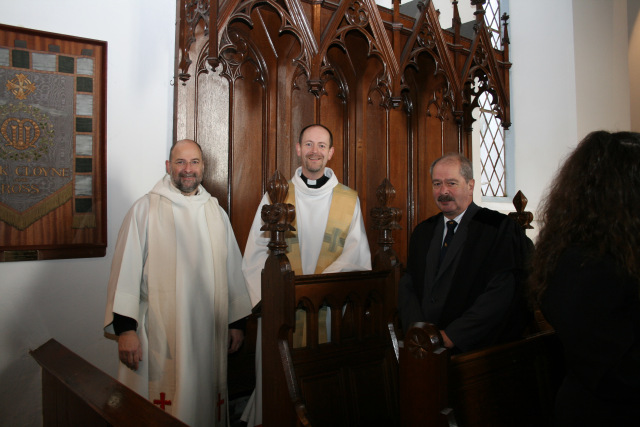 Canon Daniel Nuzun Installed in Cloyne Cathedral