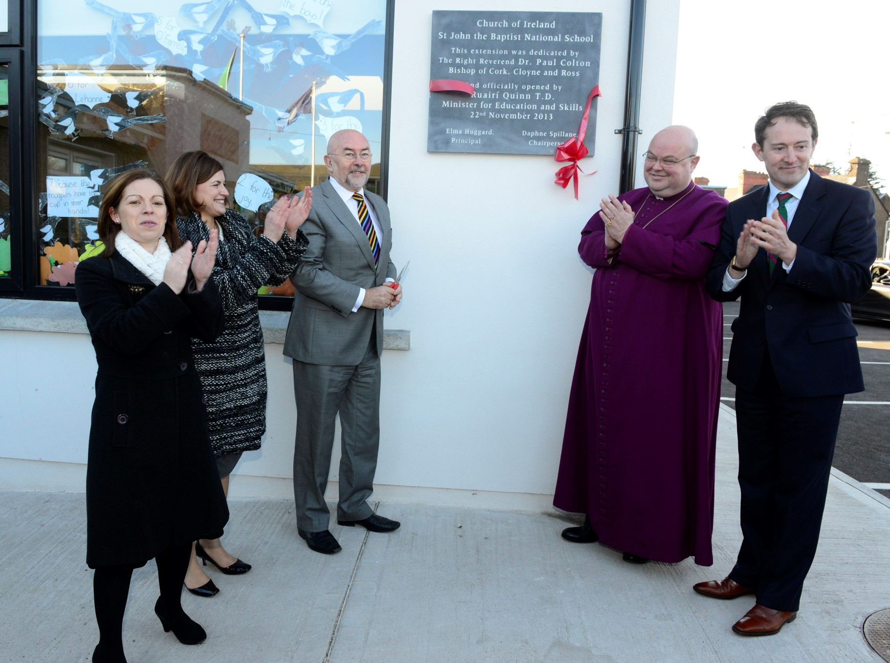 Opening of Midleton School Extension