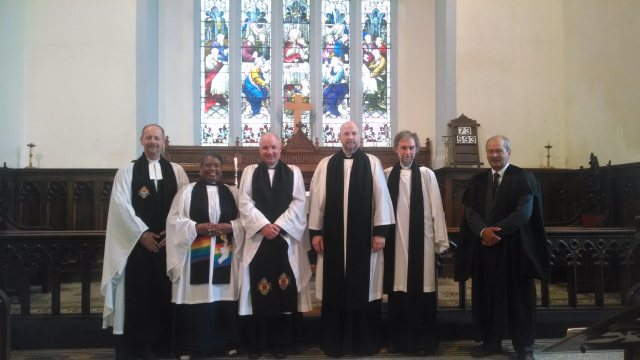 Archdeacon of Cork installed in St Colman's Cathedral