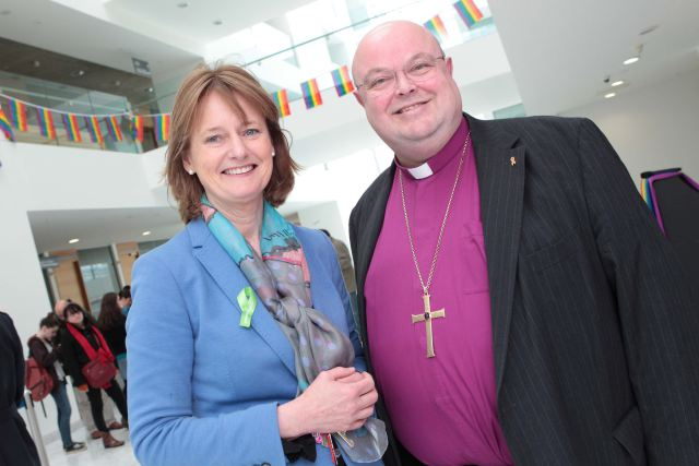 Senator Deirdre Clune & Bishop Paul Colton
