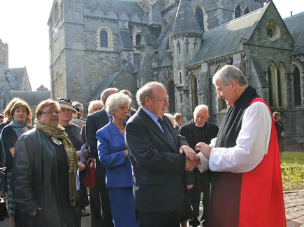 Enthronement of the new Archbishop of Dublin, the Most Revd Dr Michael Jackson