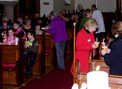 Connor MU Christingle Service