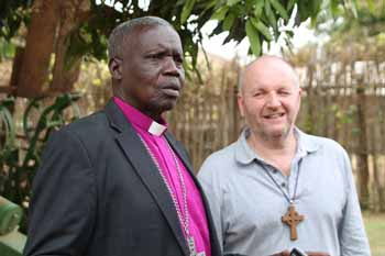 Bishop Hilary and Bishop Alan