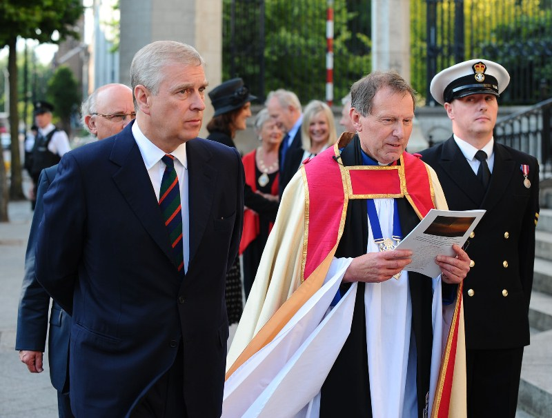 HRH The Duke of York & Dean John Mann