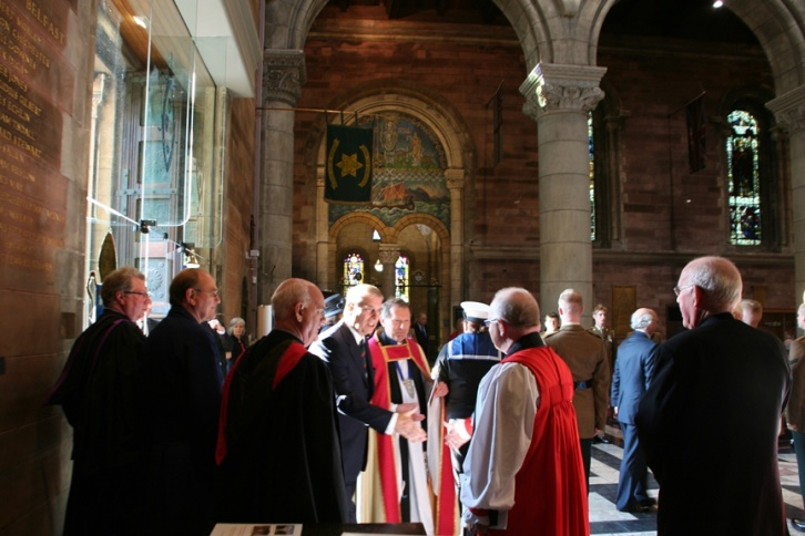 HRH The Duke of York meets Church Leaders